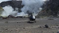 Shore Excursion From Tauranga: Helicopter Flight To Active Volcano and Kiwifruit Orchard Cart Tour