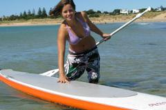 3 Days of Stand Up Paddle Board Lesson for Ladies Only (SUP) Coasting