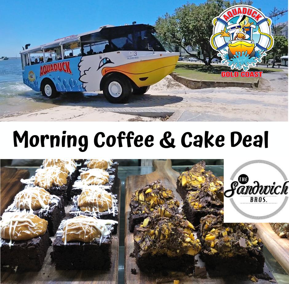 Aquaduck + Morning Coffee & Cake