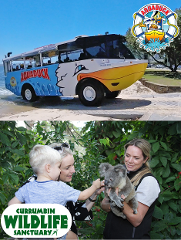 Aquaduck + Currumbin Wildlife Sanctuary Combo