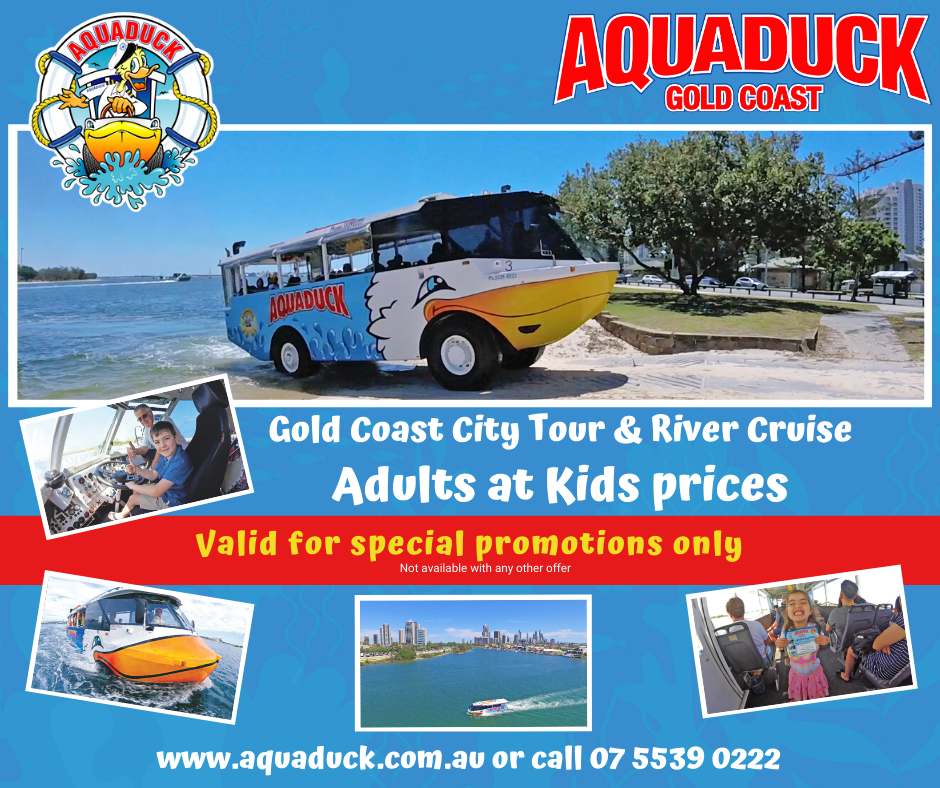 PROMO Aquaduck - Adults at Kids Prices
