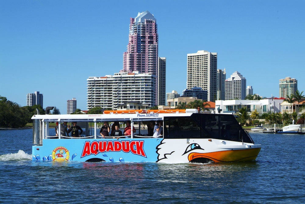 Aquaduck One hour city and river tour