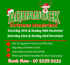 Aquaduck Christmas Wonderland