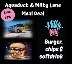 Aquaduck + Milky Lane Meal Deal