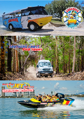 Aquaduck + Paradise Jet Boating + Southern Cross Tour