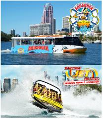 Aquaduck + Paradise Jet Boating Combo