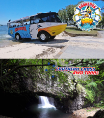 Aquaduck + Southern Cross Natural Bridge Springbrook Tour