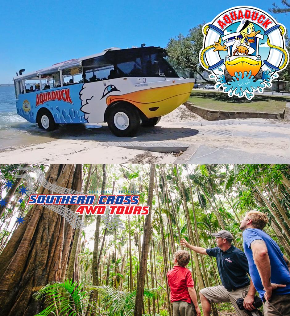 Aquaduck + Southern Cross Mount Tamborine Tour