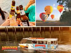 Secrets, Scandals and Sunset tour + Hot Air Balloon Flight