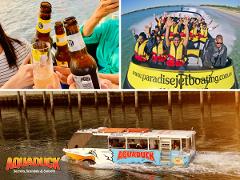 Secrets, Scandals Sunset tour + Paradise Jet Boating