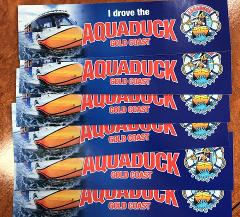 I Drove the  Aquaduck Sticker
