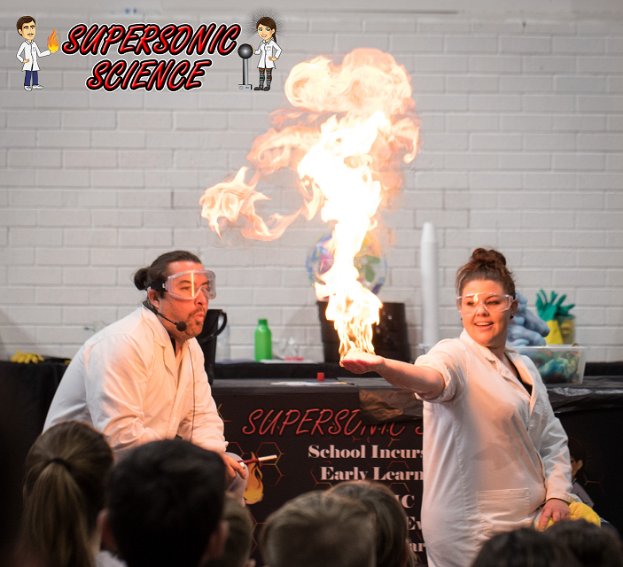 Supersonic Science Activity