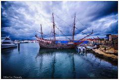 Duyfken Ship Tour and AQWA Entry