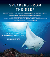 Speakers from the Deep - Guest Speakers