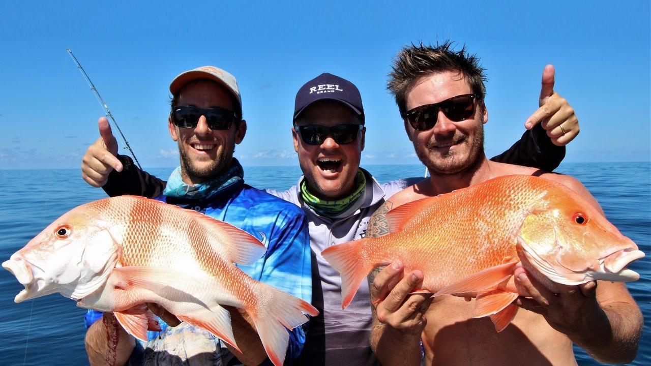 Extended Full Day Offshore Fishing Charter