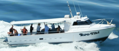 Tere Tiki SOLE BOAT  Full Day Offshore Reef and Game Fishing Charter