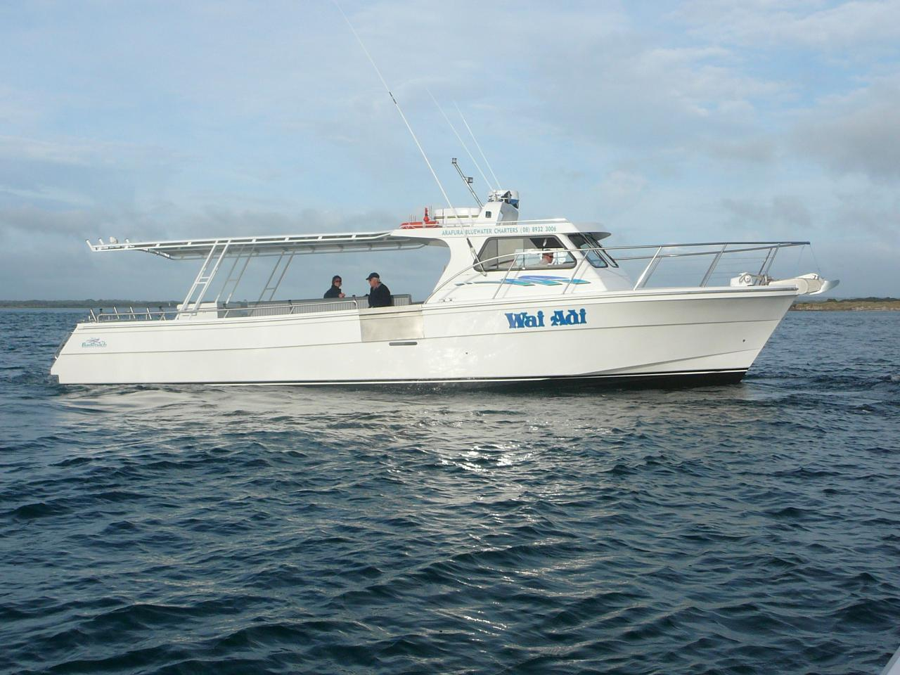 Wai Adi SOLE BOAT  Full Day Offshore Reef and Game Fishing Charter