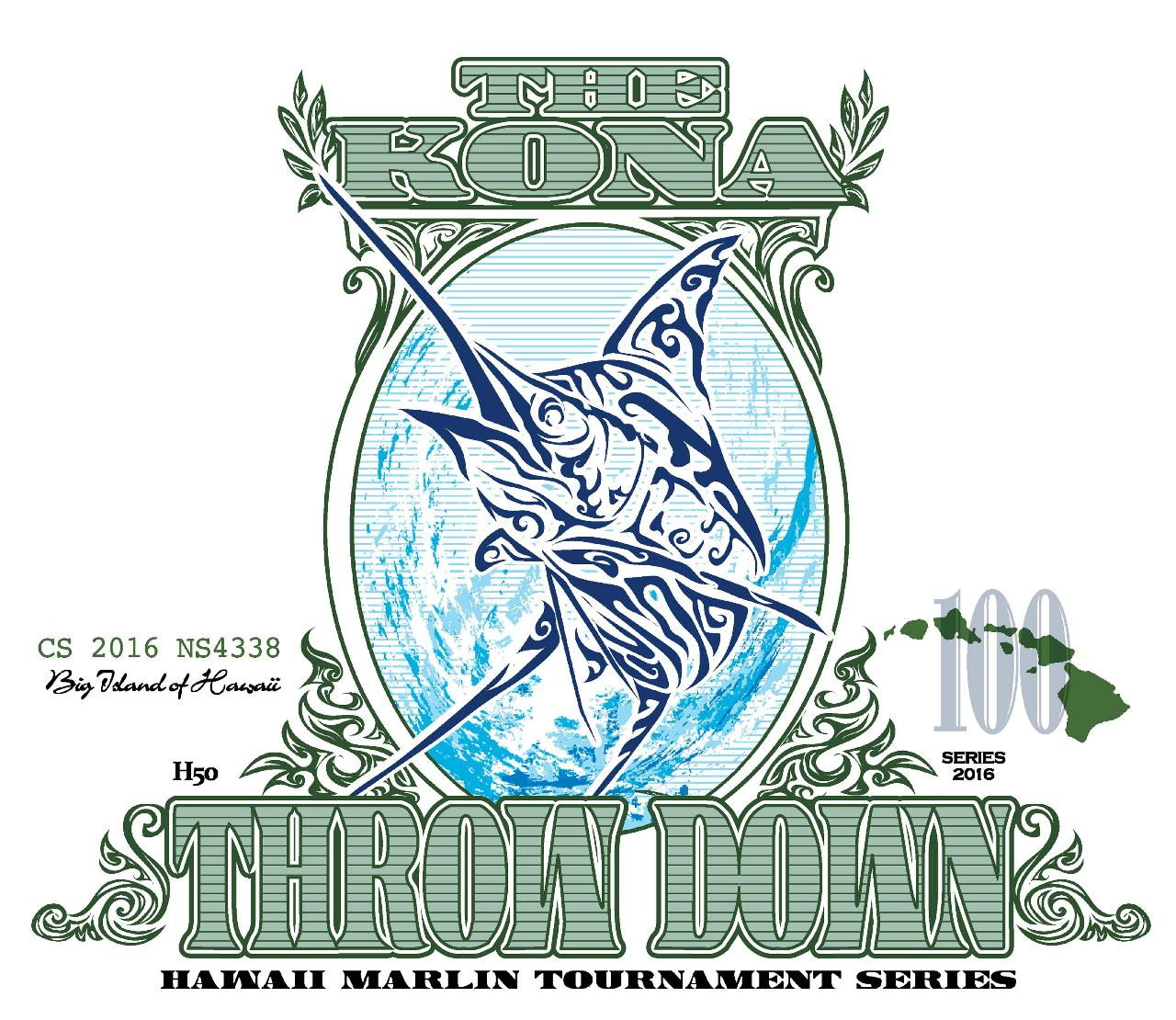 Kona Throw Down - July 2nd - 5th 2017 (Credit Card Entry)
