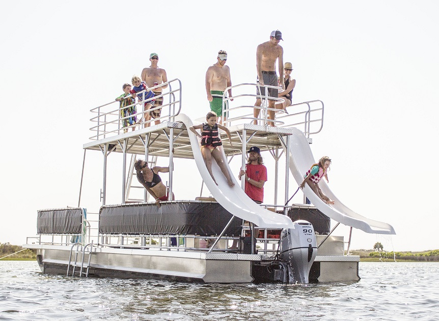 Double Decker Pontoon Full Day