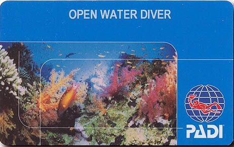 PADI Open Water Diver Certification Course in Padang Bai, Bali