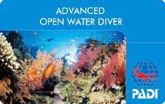 PADI Advanced Open Water Diver Certification Course in Padang Bai, Bali