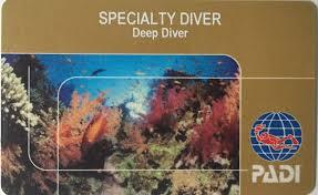 PADI Deep Diver Certification Specialty Course in Padang Bai, Bali