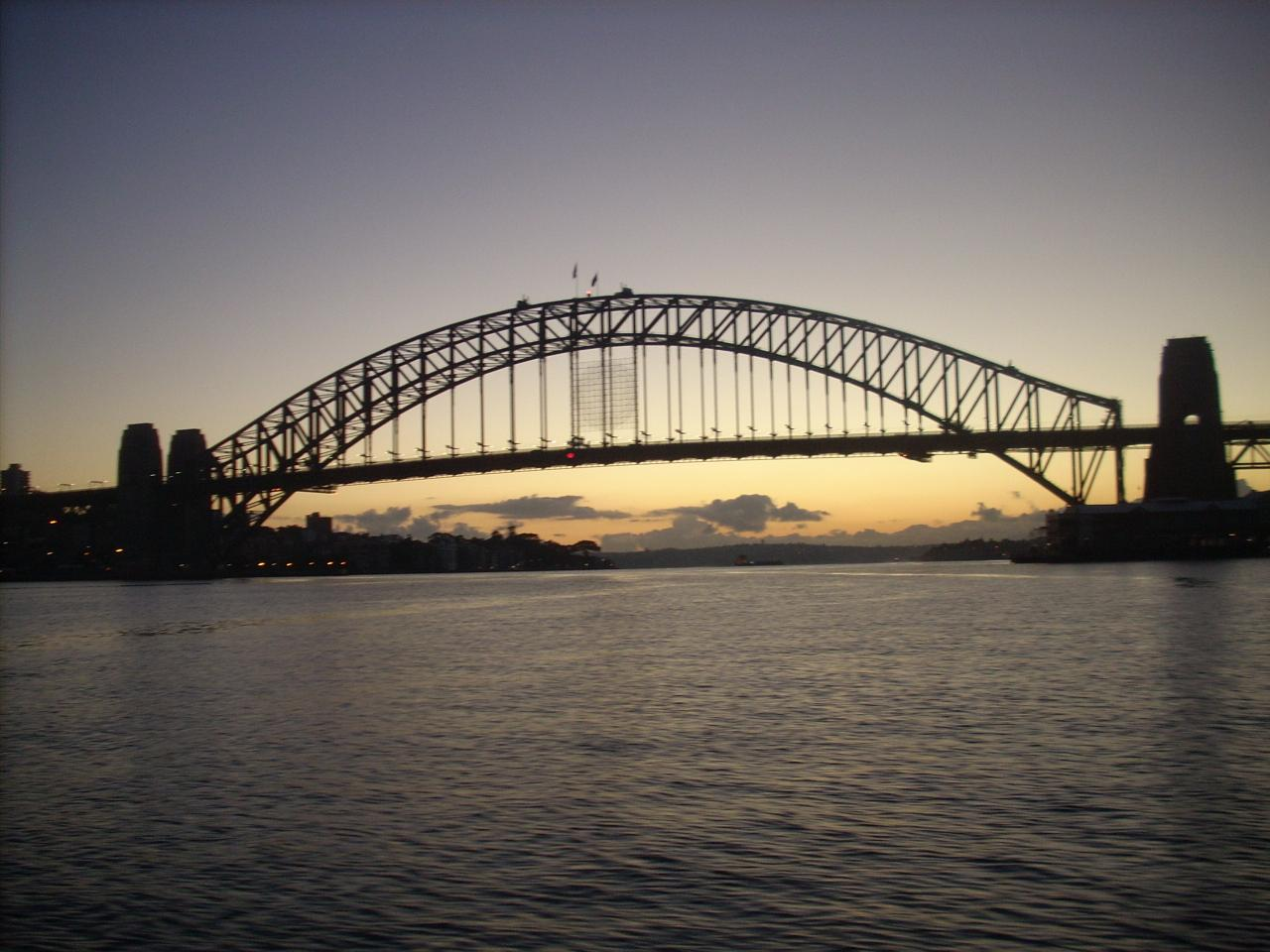 Sunrise over Sensational Sydney Harbour