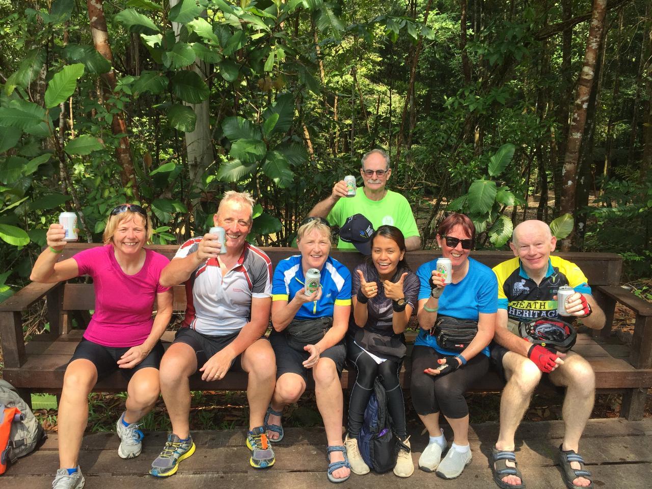 4-Day or 9-Day Ultimate Borneo Wildlife Bike Safari (BM9A)