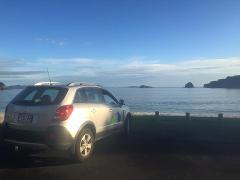 Charter: Auckland Airport to Hot Water Beach