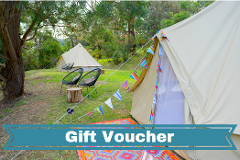 Weekend Glamping Experience - Gift Card