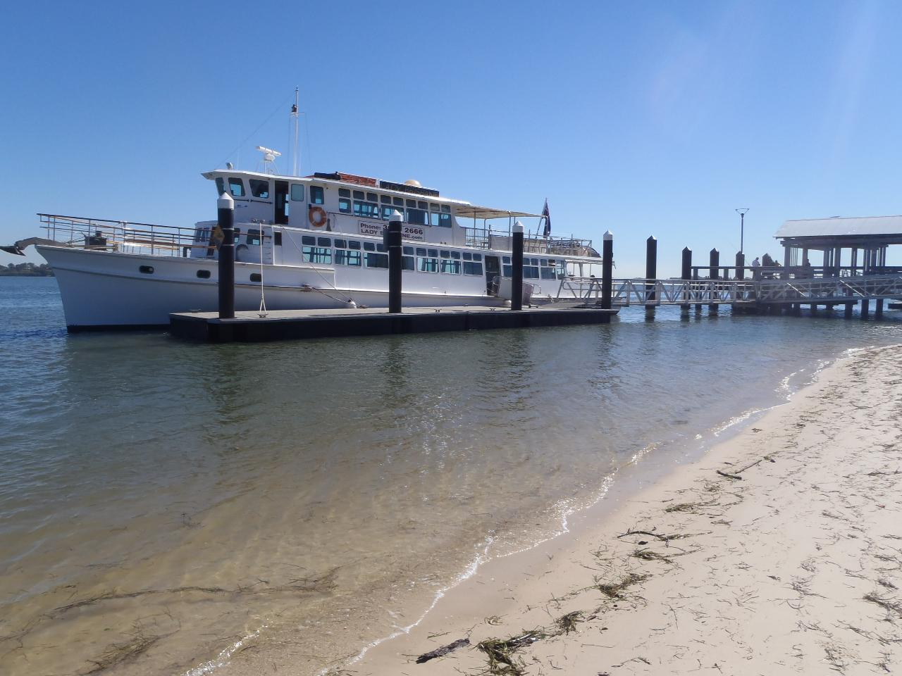 Bribie Island Lunch Cruise from Bongaree