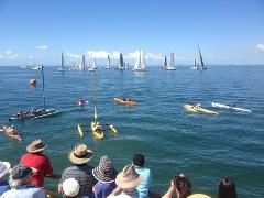 Brisbane to Gladstone Yacht Race-Shorncliffe departure