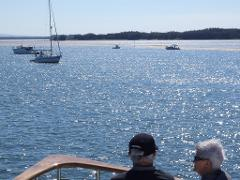 Gold Coast to Brisbane 300 Islands, sheltered water cruise