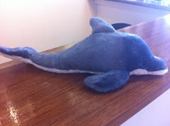 Dolphin Soft Toy - 35cm