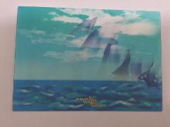 3D Dolphin Postcard
