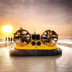 Hovercraft Scenic & Prehistoric Tour