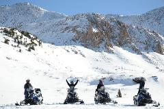 WHITE MOUNTAIN, TWO-HOUR PERFORMANCE SNOWMOBILE TOUR, Guide Gratuity is not included in the Tour Price.