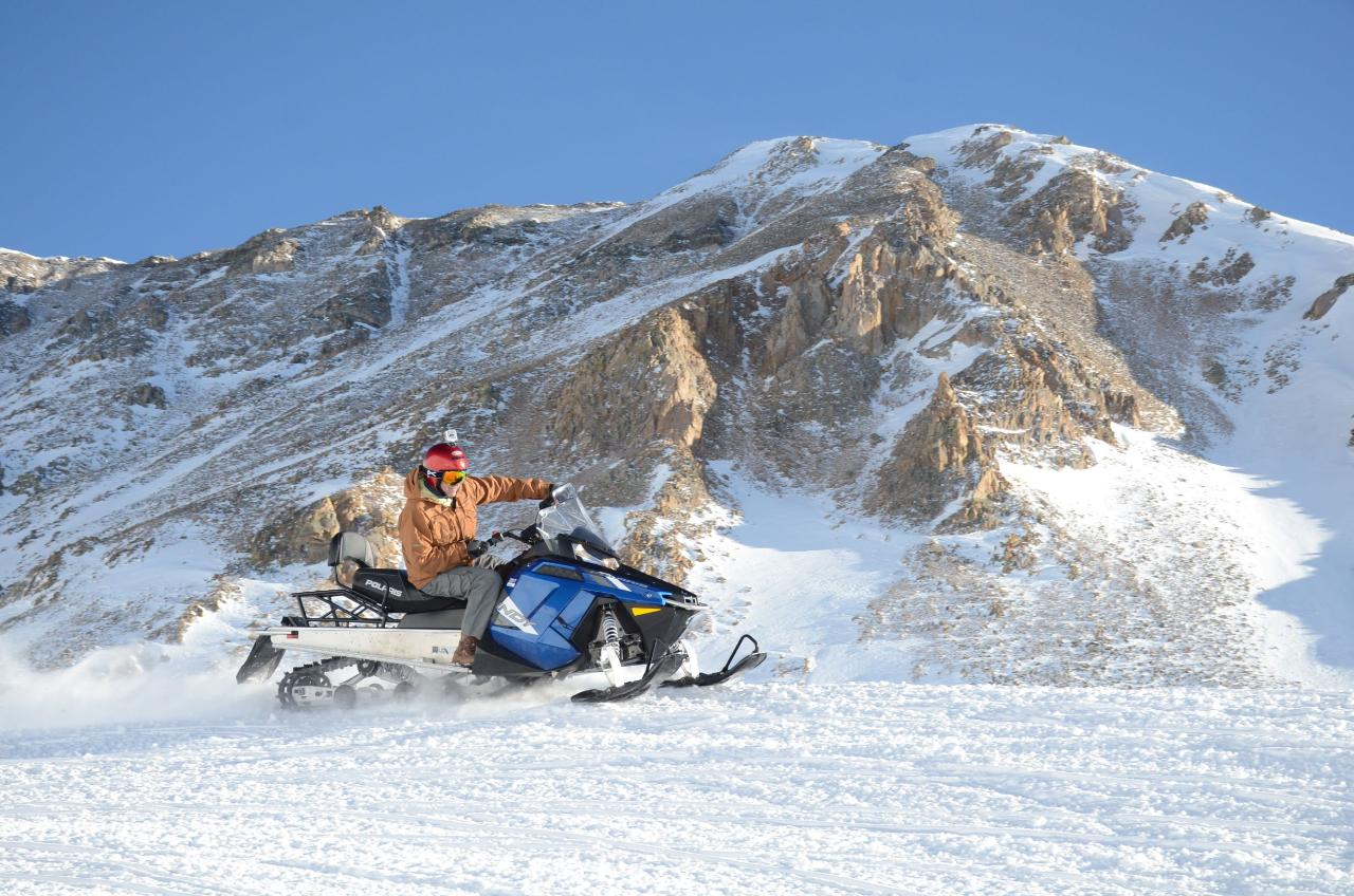 2-HR. PERFORMANCE SNOWMOBILE TOURS,  DRIVERS ONLY, NO PASSENGERS ALLOWED, Arrive 30 minutes prior to tour time.  Address:  White Mountain Snowmobile Tours, 6492 Highway 91, Leadville, Co., 80461