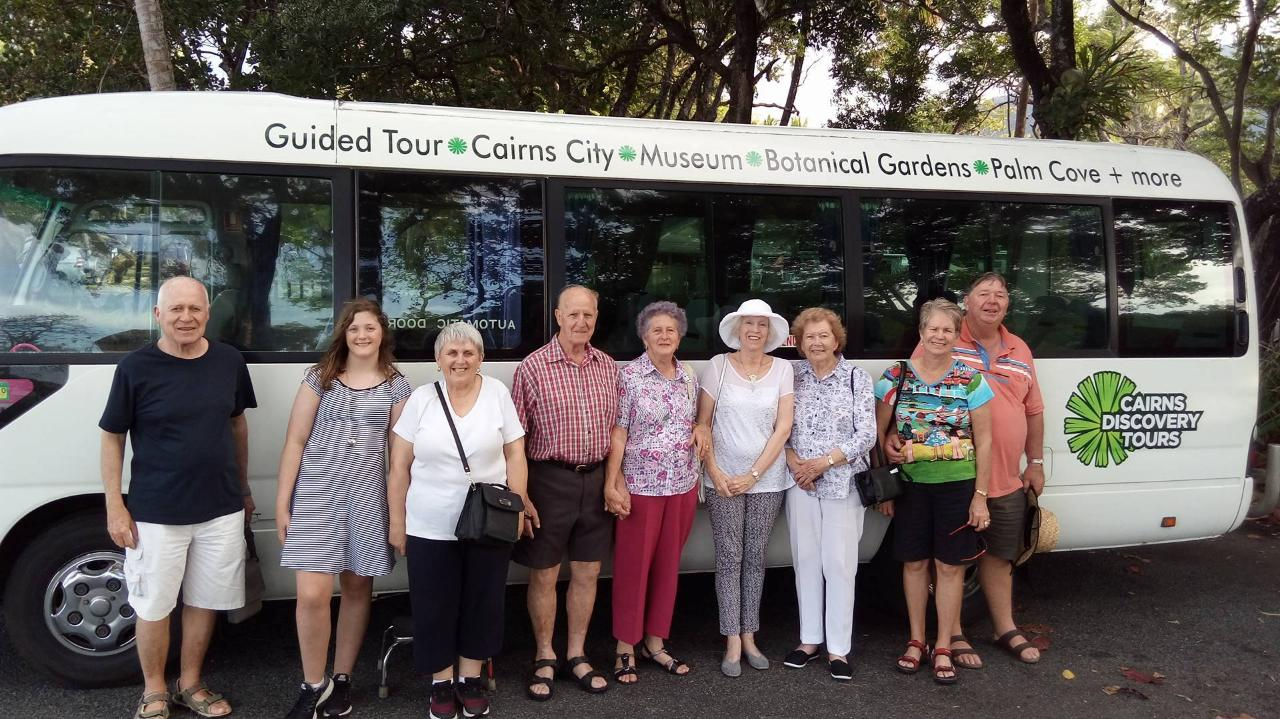 Cairns City Sights 1/2 day Tour -  Seven Seas Voyager
