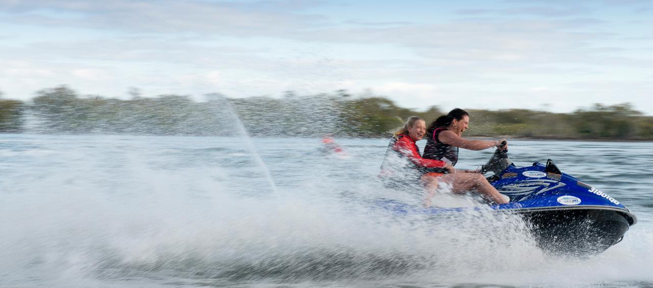 Bribie Blast Jet Ski Hire and Ride