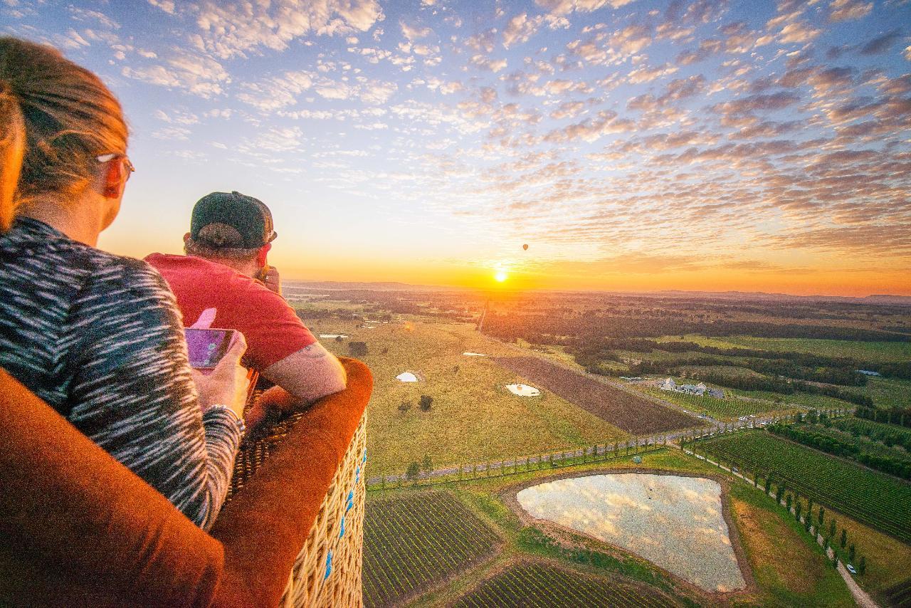Hunter Valley Sunrise Hot Air Balloon Flight