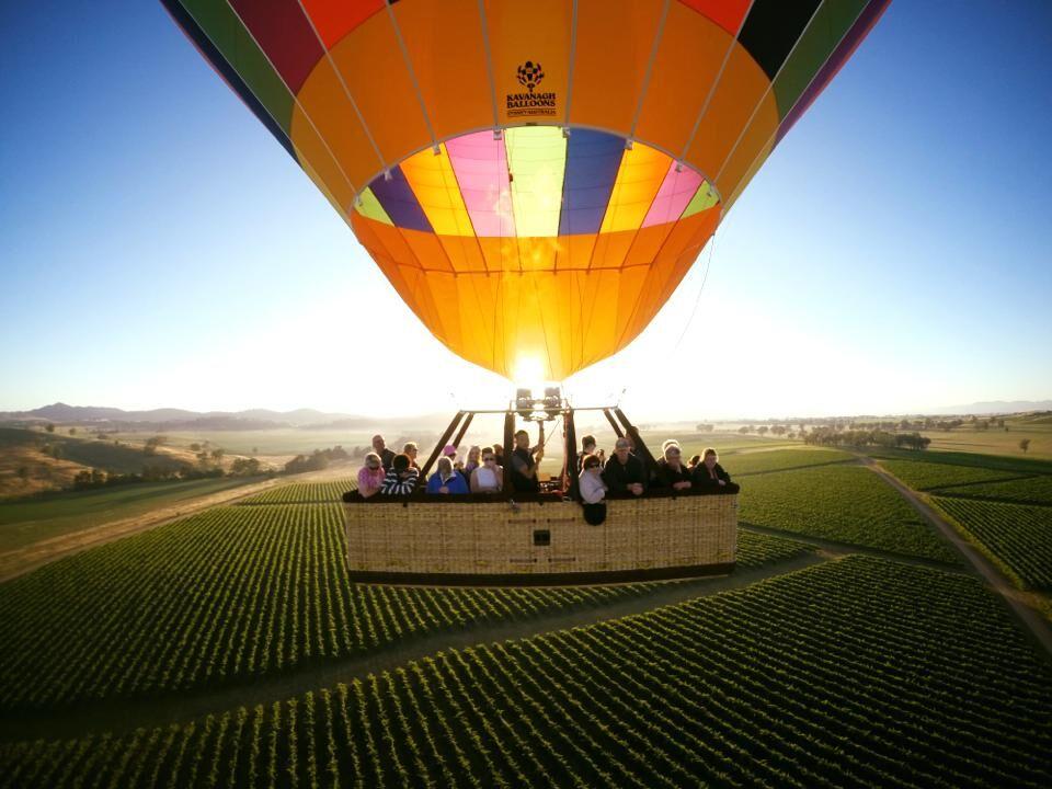 Mudgee Sunrise Hot Air Balloon Flight
