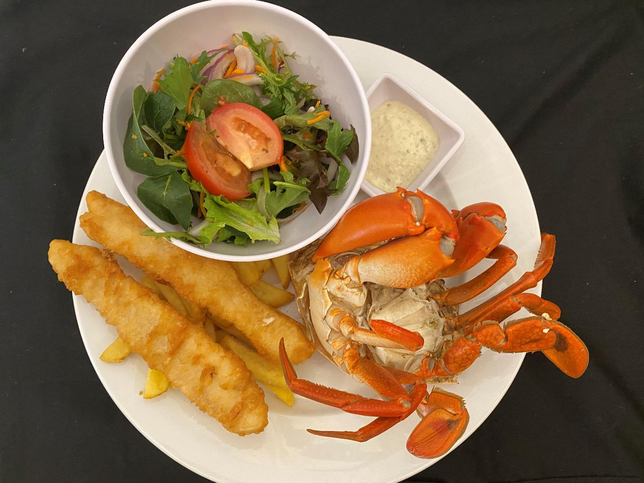Tour + Seafood Platter Lunch