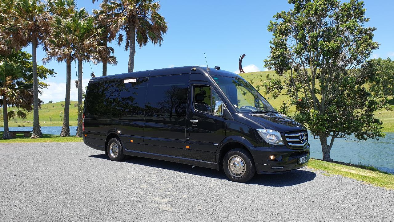 Corporate Vehicle & Chauffeur Driver Hire - (EVM Mercedes Sprinter First Class 16 Passenger Minibus)