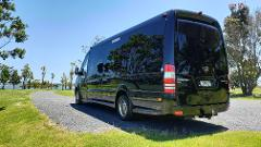 Auckland City > Airport One Way - (EVM Mercedes Sprinter First Class 16 Passenger Minibus)