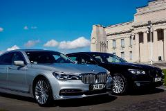Auckland City > Airport One Way - (New BMW 7 Series Sedan for 1-3 passengers)