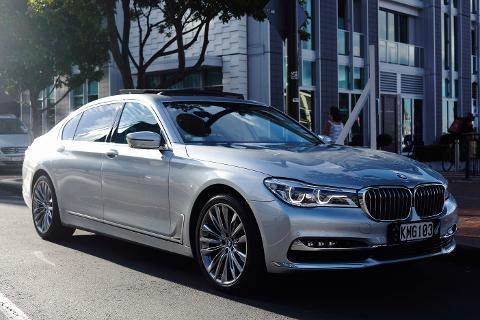 Corporate Vehicle & Driver Hire - (New BMW 7 Series Sedan)