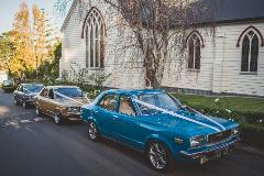 Wedding Vehicle & Driver Hire - 1975 Classic Mazda 808 12A Bridgeport