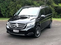 Corporate Vehicle & Chauffeur Driver Hire - (6 Passenger Mercedes V250 LWB Minivan)