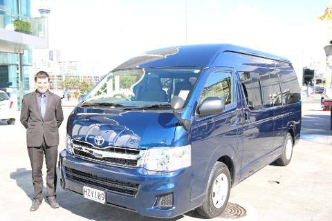Corporate Vehicle & Driver Hire - (Hiace 11 passenger minivan)